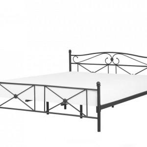Pat Rodez din metal, negru, 140 x 200cm