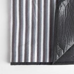 Patura de picnic 200x220 cm cu dungi