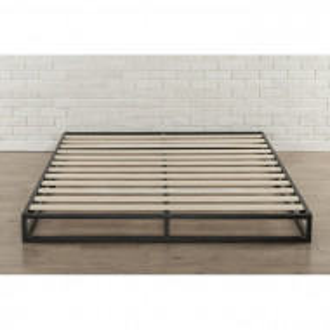 Platforma pat Ellen, negru, 180 x 200 cm