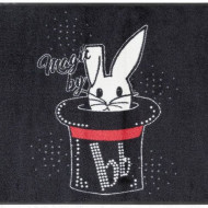 Pres de intrare Rabbit by Bruno Banani, 40 x 60 cm, negru