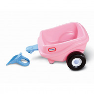 Remorca Cosy Coupe Little Tikes, roz