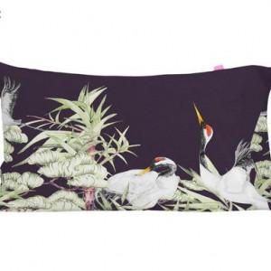 Set de 2 fete de perna Cranes, 50x75 cm