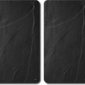 Set de 2 platouri din piatra Jocca, 30 x 20 cm