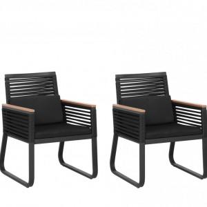 Set de 2 scaune de gradina Canetto