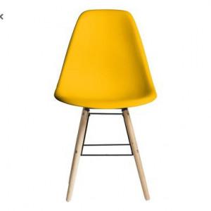 Set de 2 scaune Erby, galben