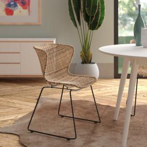 Set de 2 scaune Schwerin, 77,5 x 54,5 x 54 cm