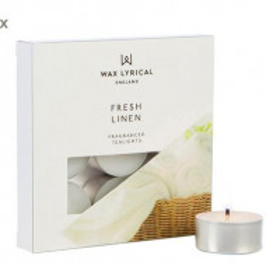 Set de 27 candele parfumate Fresh Linen
