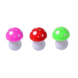 Set de 3 pixuri ciupercuță