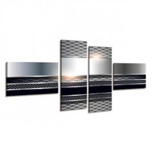 Set de tablouri canvas Carbon Steel