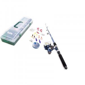 Set pentru pescuit cu undita și accesorii