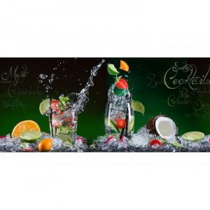 """Tablou """"Cocktail exotic"""", multicolor, 30 x 80 cm"""