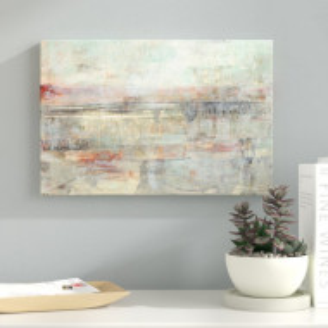 """Tablou """"Soft Scape III"""", panza, 66 x 101 x 2 cm"""