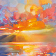 Tablou 'Arran Equinox' By Scott Naismith, 50 x 100 cm