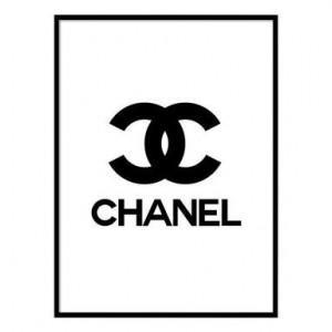 Tablou Chanel IV, 30x40 cm
