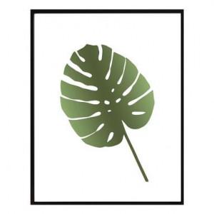 Tablou Leaf II, 30x40 cm