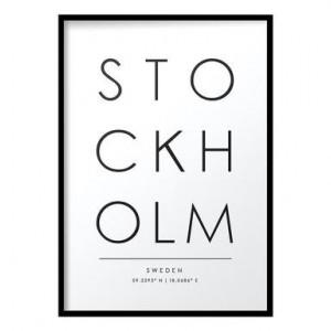 Tablou Stockholm, 30 x 40 cm