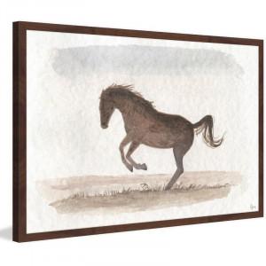 Tablou Tonnerre, maro/gri, 41 x 61 x 3,81 cm