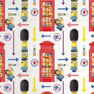 Tapet Minions Hello London