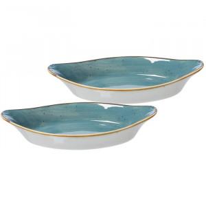 Tava de copt Arregui, albastru, 4,5 x 13,5 x 25,5 cm