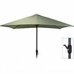 Umbrela de soare Ambiance, 2x3m, poliester 150 g/mp, verde oliv