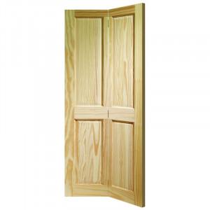 Ușă pliantă Victorian din lemn, 76.2 x 198.1 cm