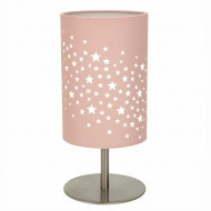Veioza Admer 23cm, roz
