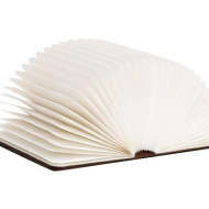 Veioză Carte din lemn, 14x2.5x16.5cm