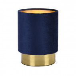 Veioza Eye, metal, albastra, 20 x 15 x 15 cm, 40w