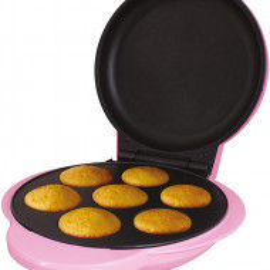 Aparat pentru mini briose Global Gizmos, roz