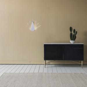 Aplica de perete LED Paun aluminiu/otel, alb, 120 lm