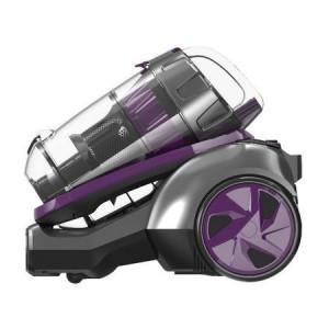 Aspirator fara sac VYTRONIX PET02 Multi-Cyclonic ,800 wati, 3 l, Perie TURBO pentru curatat parul de animale ,Mov