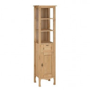 Biblioteca Home Affaire, lemn de pin tratat cu ulei