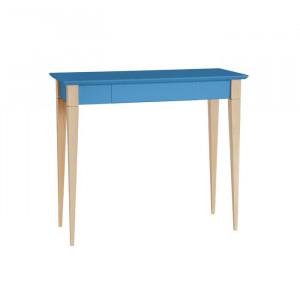 Birou Shetland, albastru/maro, 74 x 85 x 40 cm