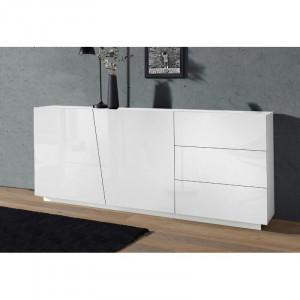 Bufet Rentz, alb, 86 x 180 x 43 cm
