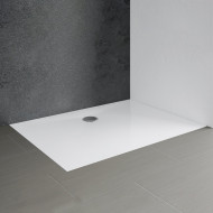 Cada de dus Schulte, alb, 3,5 x 90 x 120 cm