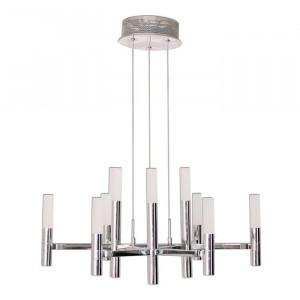 Candelabru Bredene, LED, argintiu, 150 x 60 x 60 cm, 45w