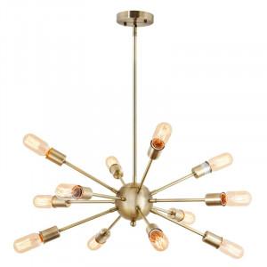 Candelabru Cosmo din metal, auriu, 30 x 41 cm