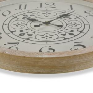 Ceas de perete Lovisa, MDF, 63,5 x 63,5 x 5 cm