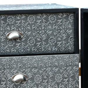 Comodă Buswell cu 5 sertare, metal, 100cm H x 60cm W x 50cm D