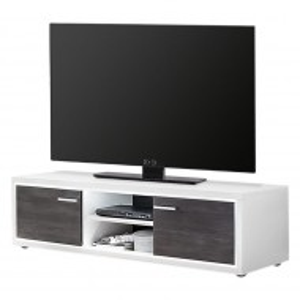 Comoda TV Piorini II - alb/pin