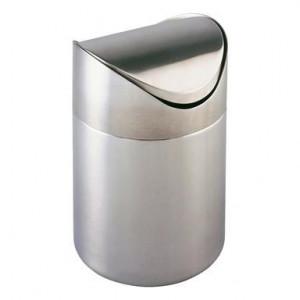Cos de gunoi, argintiu