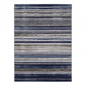 Covor Amba, albastru / gri, 160 x 220 cm