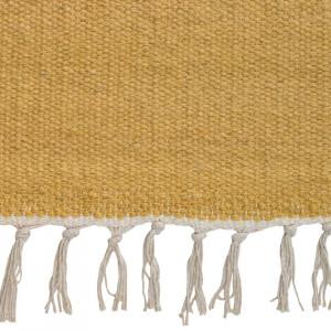 Covor din lana FIL I ,140 x 200, galben