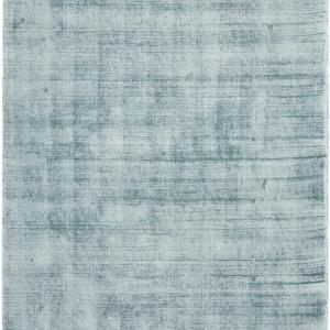 Covor din vascoza tesut manual Jane, 90 x 150 cm, gri albastriu