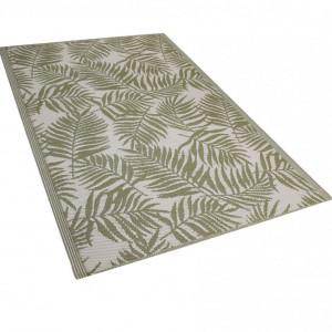 Covor Kota, alb/verde, 120 x 180 cm