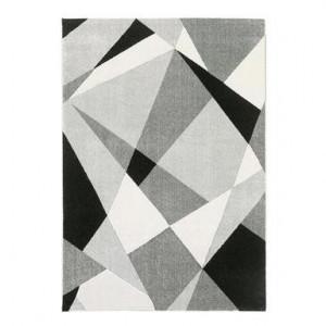 Covor Milano prestige gri/alb, 190x133 cm