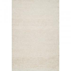 Covor Moura alb / crem, 91 x 152 cm