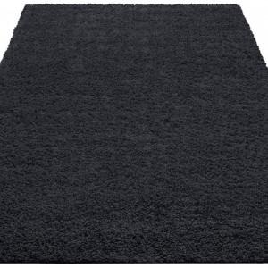Covor Shaggy 30 by Home Affaire, negru, 60 x 90 cm