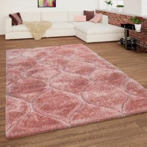 Covor Swaffham, poliester, roz, 80 x 150 cm