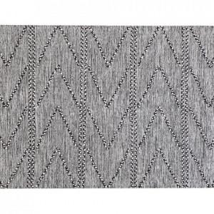Covor Termal din bumbac, alb / negru, 160 x 230 cm
